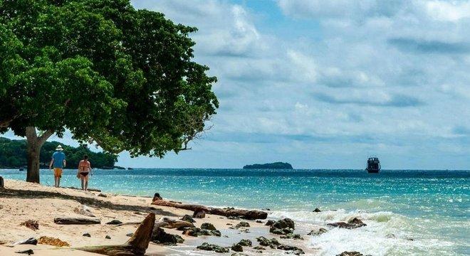 Acredita-se que o navio naufragado San José fique na região das Ilhas Rosário, na Colômbia