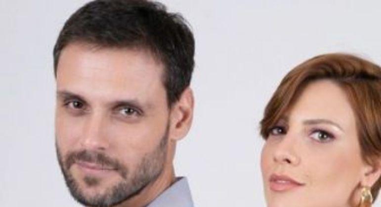 Casal da novela. Foto: Divulgação/Record TV