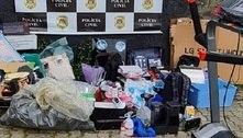 Polícia prende casal em SP e recupera mercadorias roubadas
