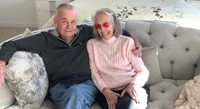 O casal voltou a ficar junto depois de longos anos distantes