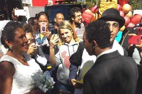 Selma e João se casaram em Belo Horizonte