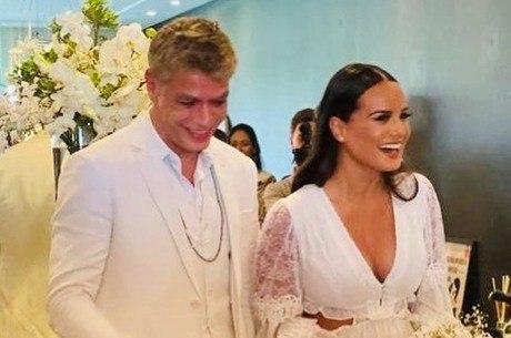 Fabio postou foto da cerimônia