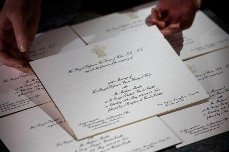 Convidados participarão de cerimônia e recepção