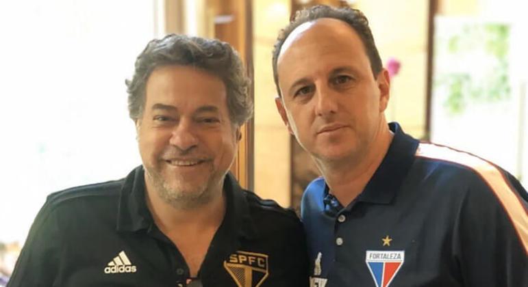 Casares é próximo de Rogério Ceni. Se o Flamengo o dispensar, caminho estará aberto