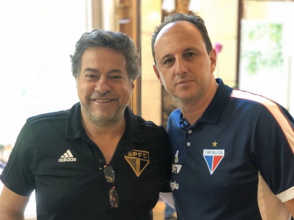 Casares, como Roberto Natel, contava com Ceni como técnico em 2021