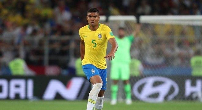 Casemiro. De desprezado no São Paulo. A titular do Real Madrid e da Seleção