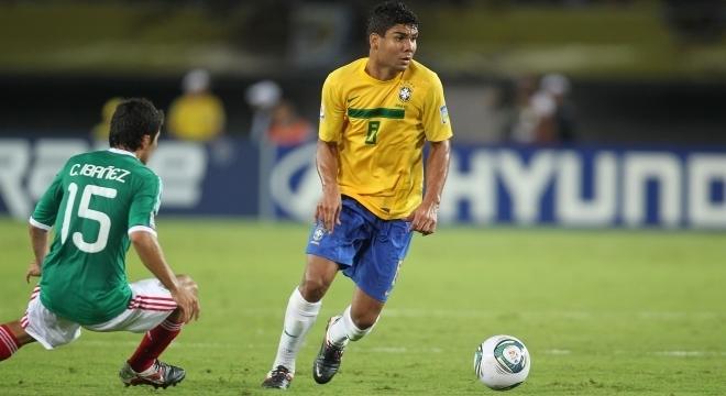 Casemiro foi campeão mundial sub-20 em 2011