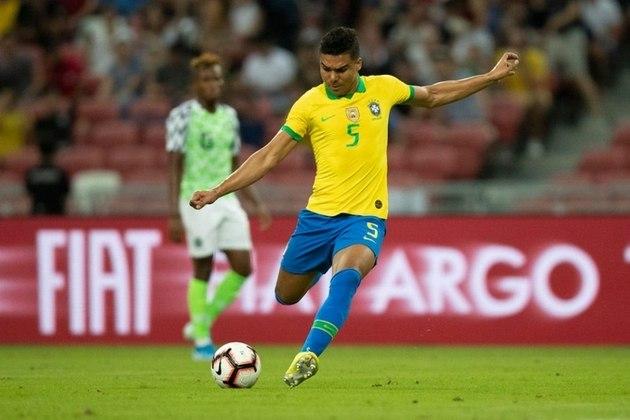 Casemiro – O volante do Real Madrid é um dos jogadores que tem a confiança absoluta de Tite e a titularidade indiscutível na Seleção Brasileira. Fez uma Copa América segura.