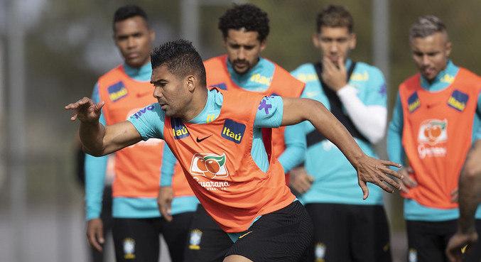 Casemiro será novamente o capitão da seleção brasileira nas Eliminatórias