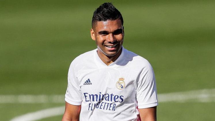 Casemiro - volante - Real Madrid