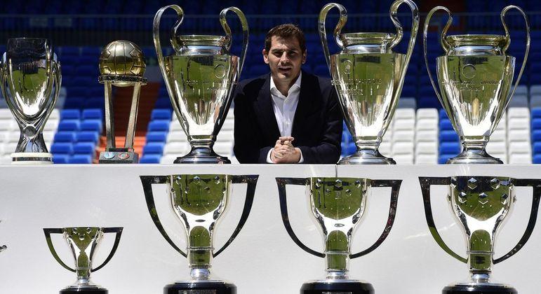 Casillas, na sua despedida do Real Madrid