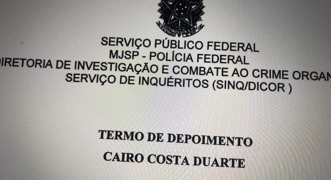 Depoimento ocorreu nesta quarta-feira (20) em Brasília