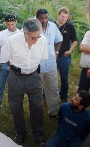 Edson Santi questiona suspeito