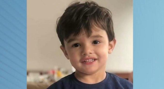 Gael, de 3 anos, foi encontrado morto no apartamento da família, em São Paulo