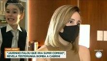 Ex de Jairinho diz que ela e filho eram agredidos: 'Ia sumir comigo'