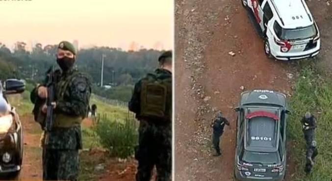 PM faz buscas em Heliópolis para localizar o corpo de soldado desaparecido
