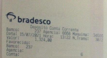 Ribeiro fez depósito para cliente em horário próximo