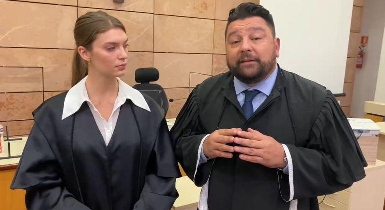 """Advogada fala por apenas 30 segundos em vídeo: """"não me senti subjugada"""""""