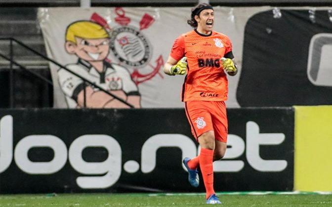 CÁSSIO - Apesar do vice para o Palmeiras, o goleiro Cássio entrou na seleção do Campeonato Paulista. O defensor do Corinthians teve bons momentos na competição estadual.
