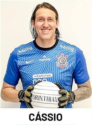 Cássio - chegou ao clube em 2012 - 531 jogos