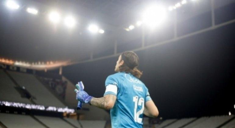 Cássio - Corinthians x Atlético-MG