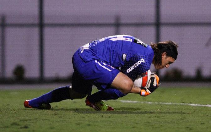 Cássio estreou pelo Corinthians em 28 de março de 2012, com boa atuação contra o XV de Piracicaba no estádio do Pacaembu.