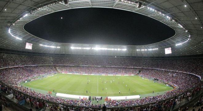 Estádio Castelão, em Fortaleza, recebeu grandes públicos em 2018