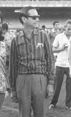 No Maraca com o Bangu em 1967