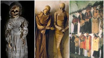 Rede de catacumbas turísticas tem 1.250 múmias e histórias macabras (Reprodução/wearepalermo.com)