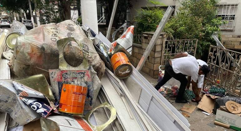 Aumento do número de catadores fez preço do material reciclável cair