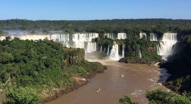 Segundo o comunicado, o Parque Nacional de Foz do Iguaçu é um lugar seguro