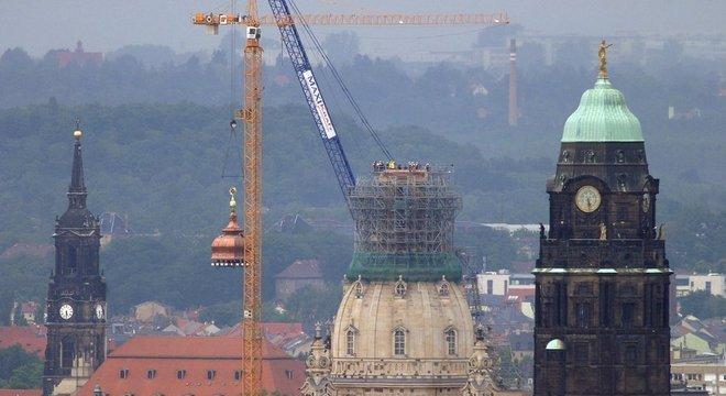 Catedral de Dresden foi reconstruída com ajuda de doações britânicas e americanas