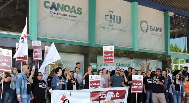 Categoria reclama de atrasos salariais, ausência de depósito de FGTS, férias e 13º salário Crédito: Fernanda Bassôa / Especial / CP