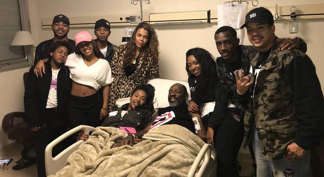 Catra recebeu o apoio da família durante o tratamento contra o câncer