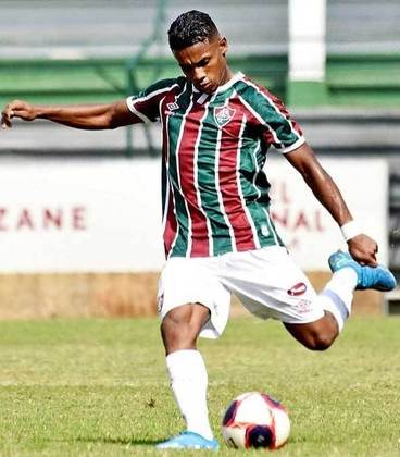Cauã Aguiar - 20 anos - atacante - contrato com o Fluminense até 31/12/2021