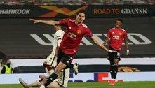 Cavani brilha e o United, por 6 X 2, despacha a Roma, na Liga Europa
