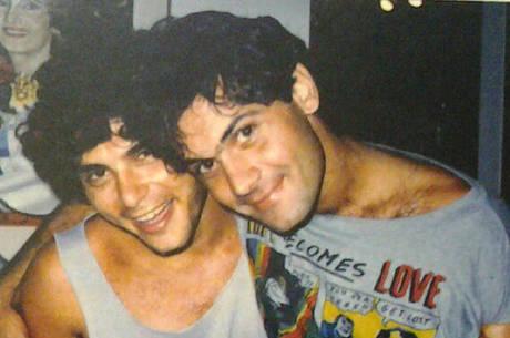 Roberto Frejat e Cazuza; década de 1980