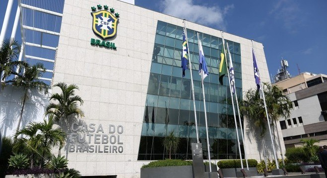 A sede da CBF, no Rio