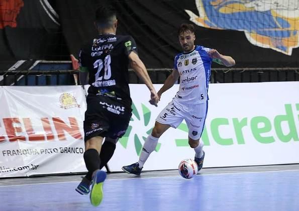 CBFS - Futsal: Em quinto na lista, aparece com 532 mil seguidores, a Confederação de Futsal, tendo como principal fonte nas redes sociais o Facebook