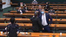 Primeira sessão com Bia Kicis na CCJ é encerrada após bate-boca
