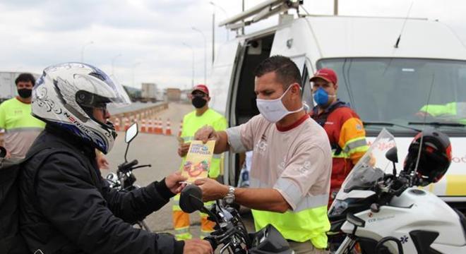 Ação terá foco nos motociclistas de veículos de alta cilindrada