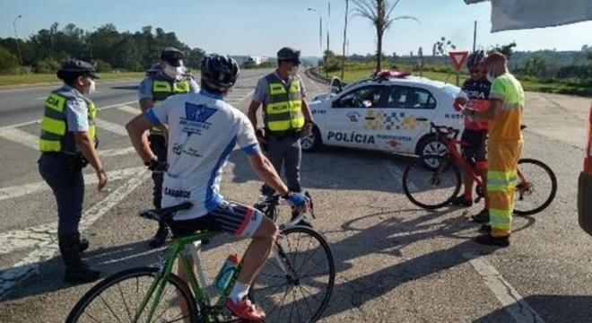 Abordagens terão caráter educativo, alertando sobre os cuidados para pedalar com segurança e respeitando sempre as regras de trânsito