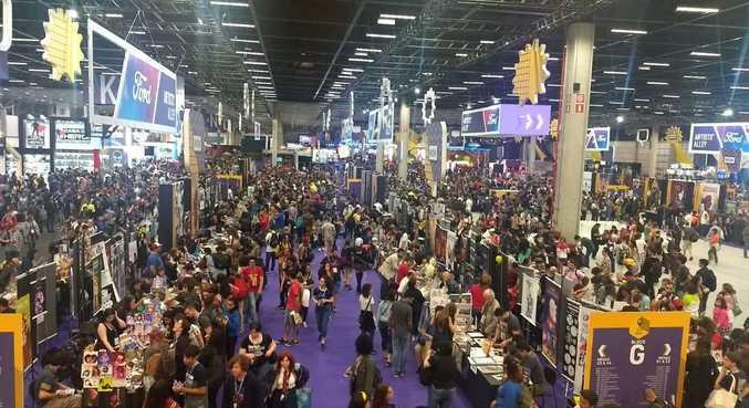 O evento em SP costuma reunir milhares de pessoas