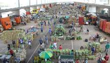 Movimento na Ceagesp cai 30% em dia de protesto de caminhoneiros