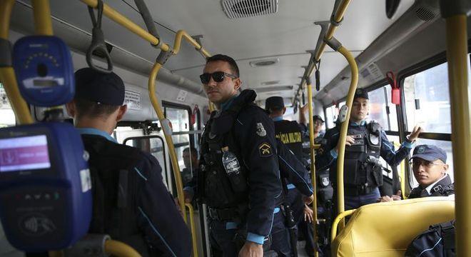 Agentes da Força Nacional de Segurança estão atuando nas ruas da capital