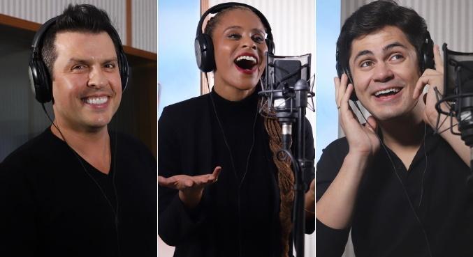 Ceará, Aline e Lucas emprestam suas vozes para 'Patrulha Canina – O Filme'