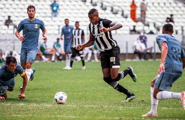 Ceará: Bahia (casa - 17/06) / Internacional (fora - 20/06) / Atlético-MG (casa - 24/06) / São Paulo (casa - 27/06) / RB Bragantino (fora - 01/07) / Juventude (casa - 04/07) / Fluminense (fora - 07/07) / Cuiabá (fora - 11/07).