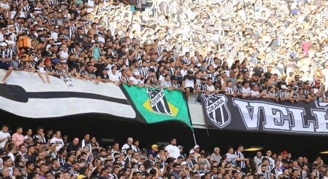 Ceará colocou mais de 42 mil torcedores no jogo contra o Inter