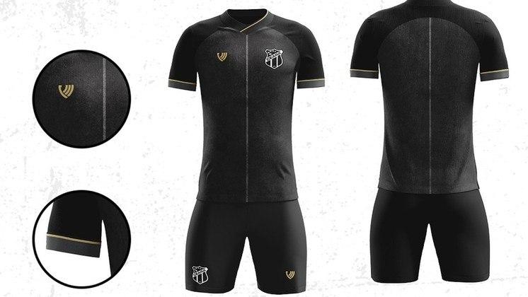 CEARÁ: Em 2020, ano do 106º aniversário do Ceará, o clube lançou uma campanha onde 360 modelos de uniformes foram enviados por torcedores e ao final, apenas um, apelidado de