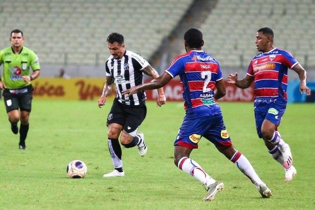 Ceará - Pela terceira vez seguida, Fortaleza e Ceará se enfrentam em uma final do estadual. O Tricolor é o atual campeão do certame, tem 42 títulos contra 45 do maior rival.